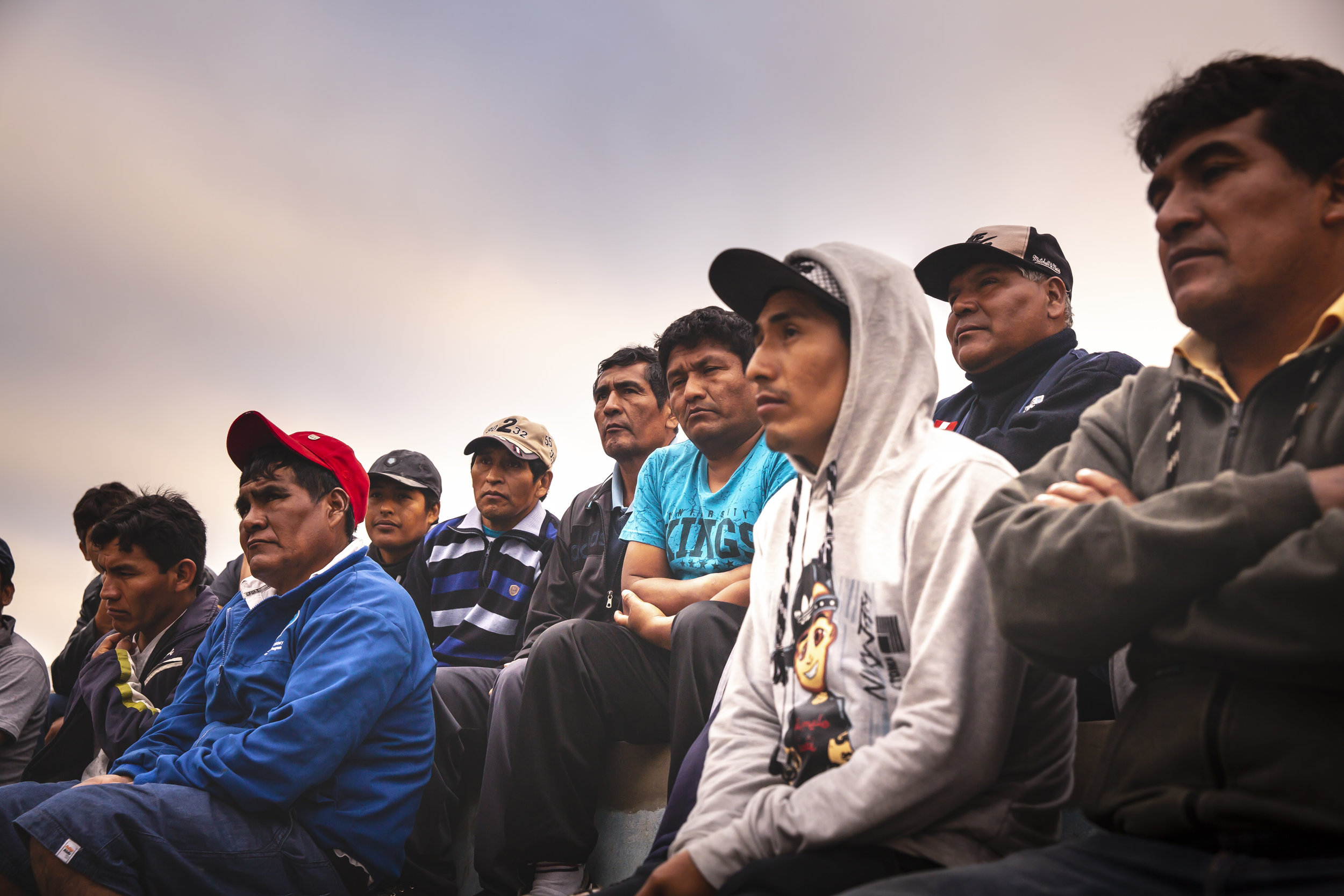 """As a loving parent would share with his children, Paco exclaims to the cooperative, """"If I'm concerned about our resources after 43 years of fishing, you should be twice as worried!""""   Ana Sotelo for NESsT"""