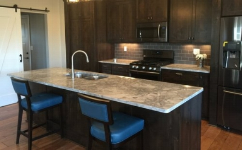 New construction    General Contractor: Hammer Homes  Design: Dwell Local  Cabinets: Minnus Woodworking