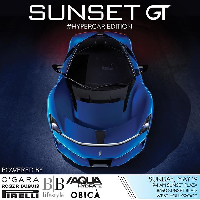 #SunsetGT is finally back on Sunday!  Are you ready for the #Hypercar Edition?  Tag your friends in comments and see you there.  #SunsetGT #OGaraCoach #CarsAndCoffee #HypercarEdition #BeverlyHills #California #Supercars #luxurycars #OnlyTheBest