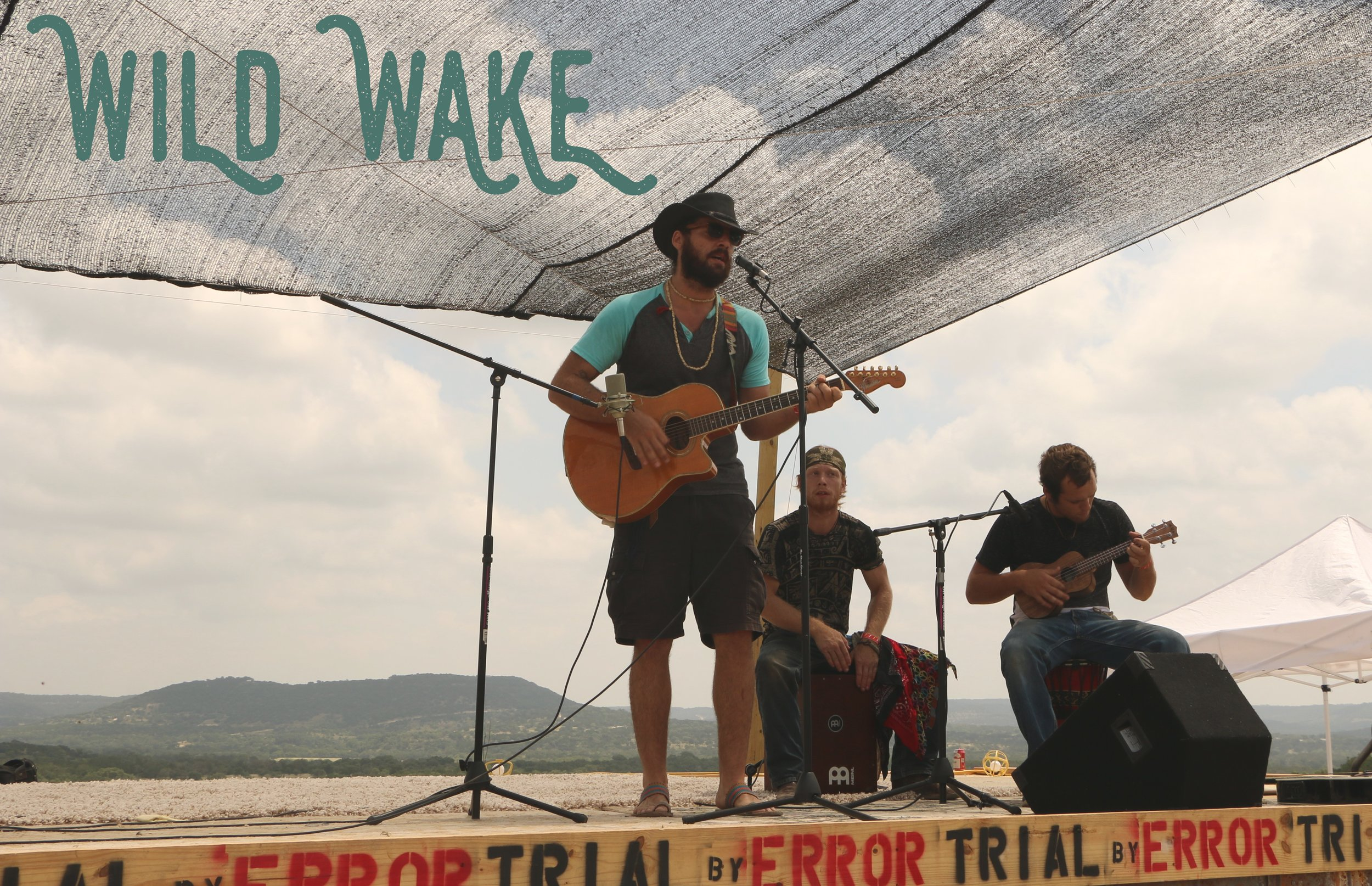 Bandera natives  WILD WAKE  (Folk/Americana)