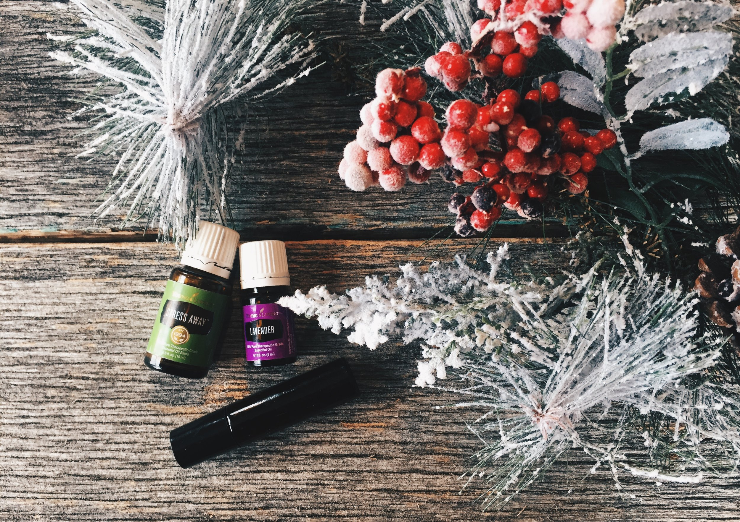 Young-Living-Essential-Oils-Stress-Away-Lavender-Roller-Coconut-Sleep-Green-The-Oily-Home-Companion.JPG