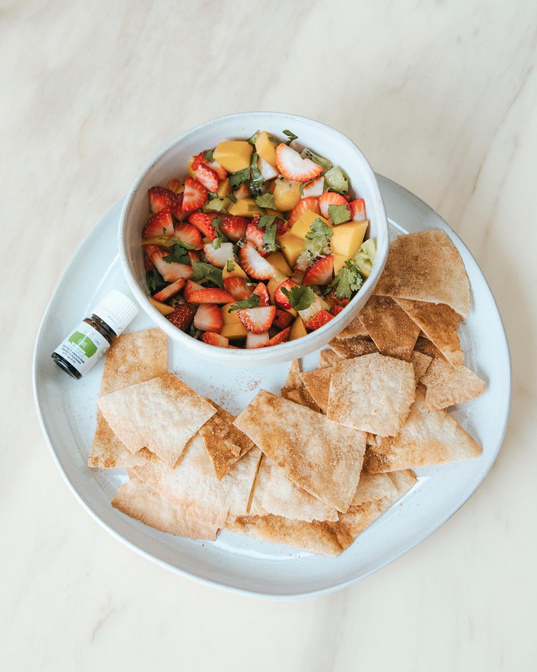 The-Oily-Home-Companion-Recipe-Mango-Strawberry-Kiwi-Fruit-Salad-Salsa-Cinnamon-Lime-Chips-Tortilla-Gluten-Free-Snack-Spring-Summer2.jpg