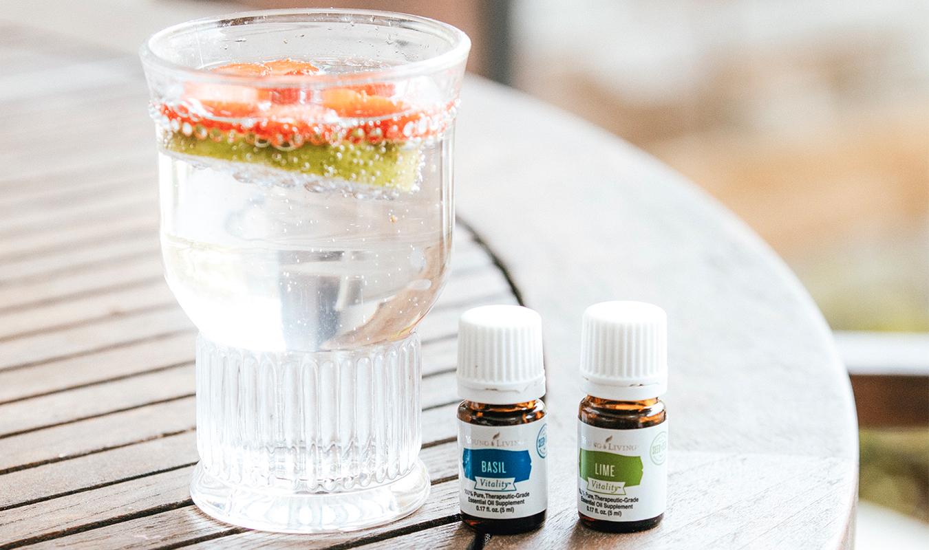 The-Oily-Home-Companion-Recipe-Drink-Summer-Spring-Spritzer-LaCroix-Lime-Strawberry-Basil-Honey-Vitality-Essential-Oils-Young-Living.jpg