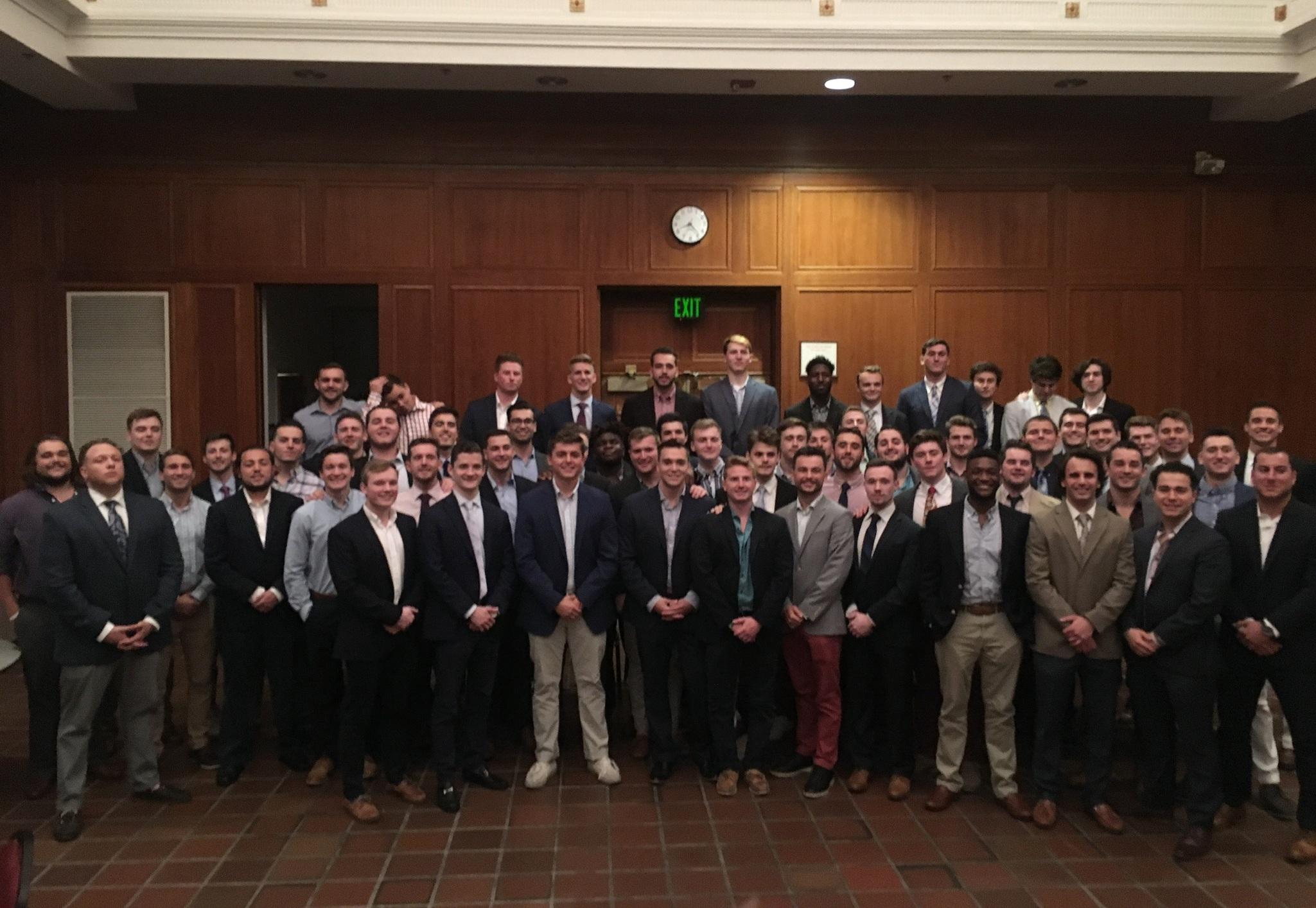 The 2018-2019 Salisbury University Kappa Sigma - Pi Sigma Chapter