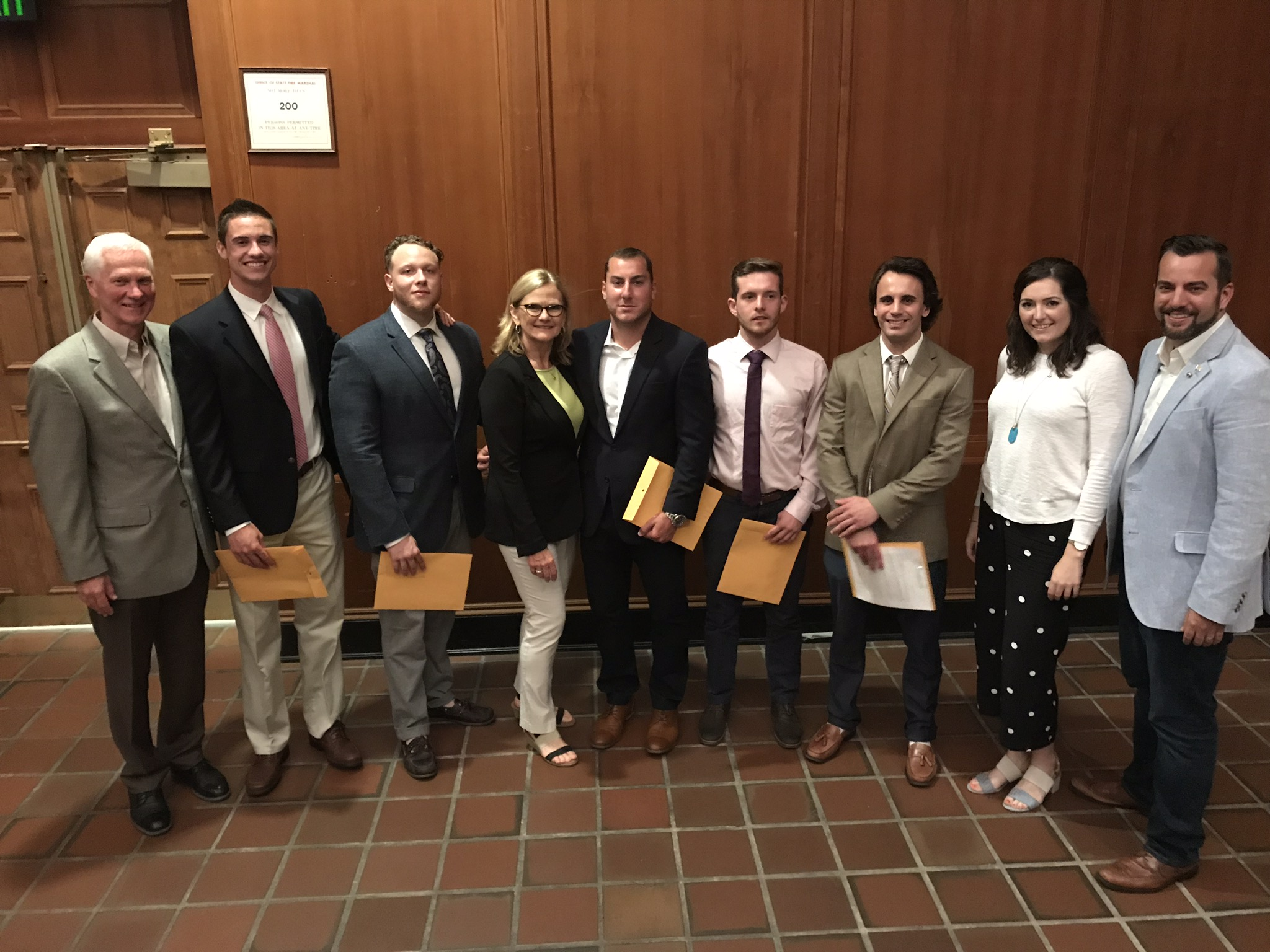 2019 ZGK Award Recipients with ZGK Board Members