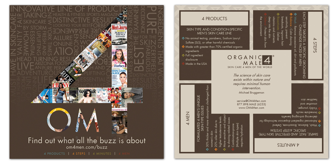 """For print design - 5""""x5"""" double sided 4/2 on heavy weight semi gloss. Distributed across North American Spas"""