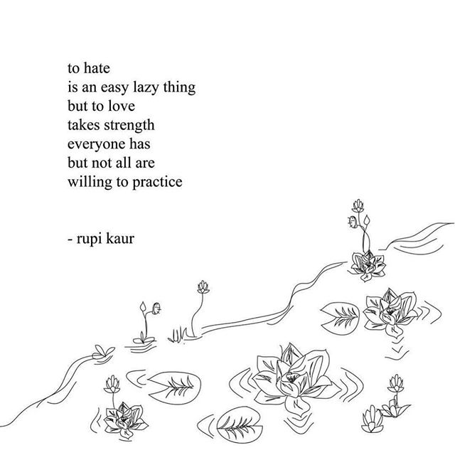 needed this today. #rupikaur #words #love