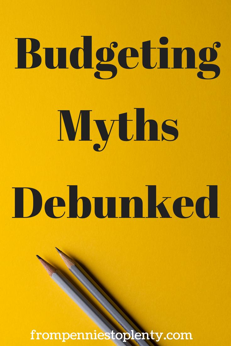 Budgeting Myths Debunked