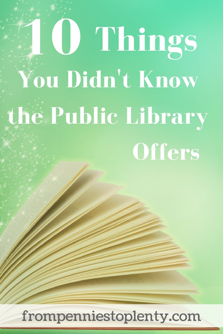 10 things you didn't know the public library offers
