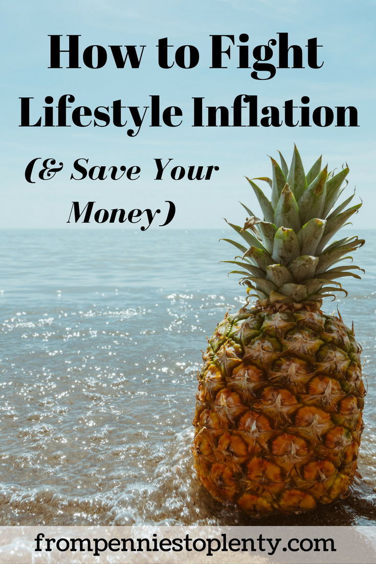 how to fight lifestyle inflation
