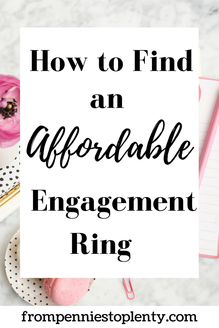 how to find an affordable engagement ring