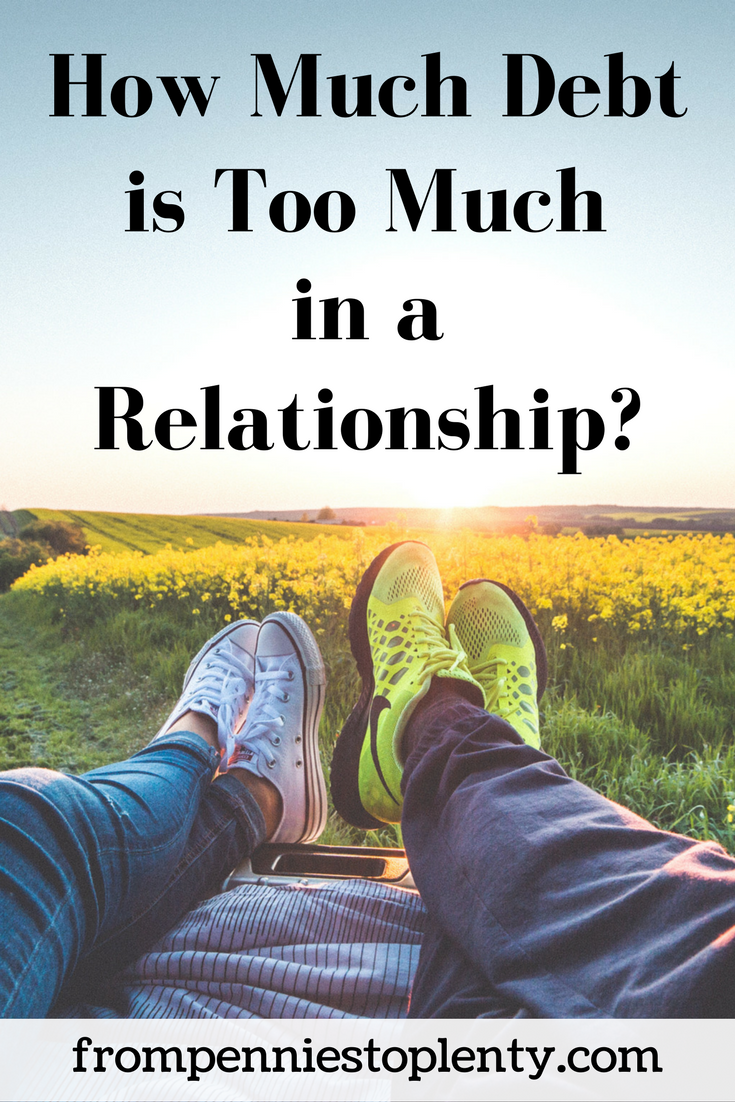 How Much Debt is Too Much in a Relationship?