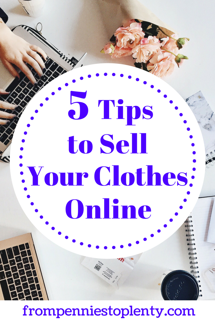 5 Tips to Sell Your Clothes Online