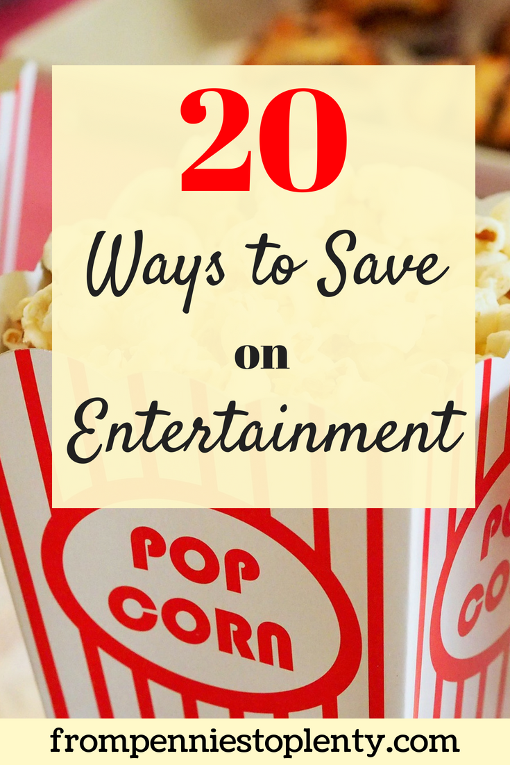 20 ways to save on entertainment