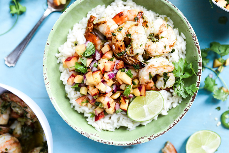 Spicy-Shrimp-Peach-Salsa-Coconut-Rice-1.jpg