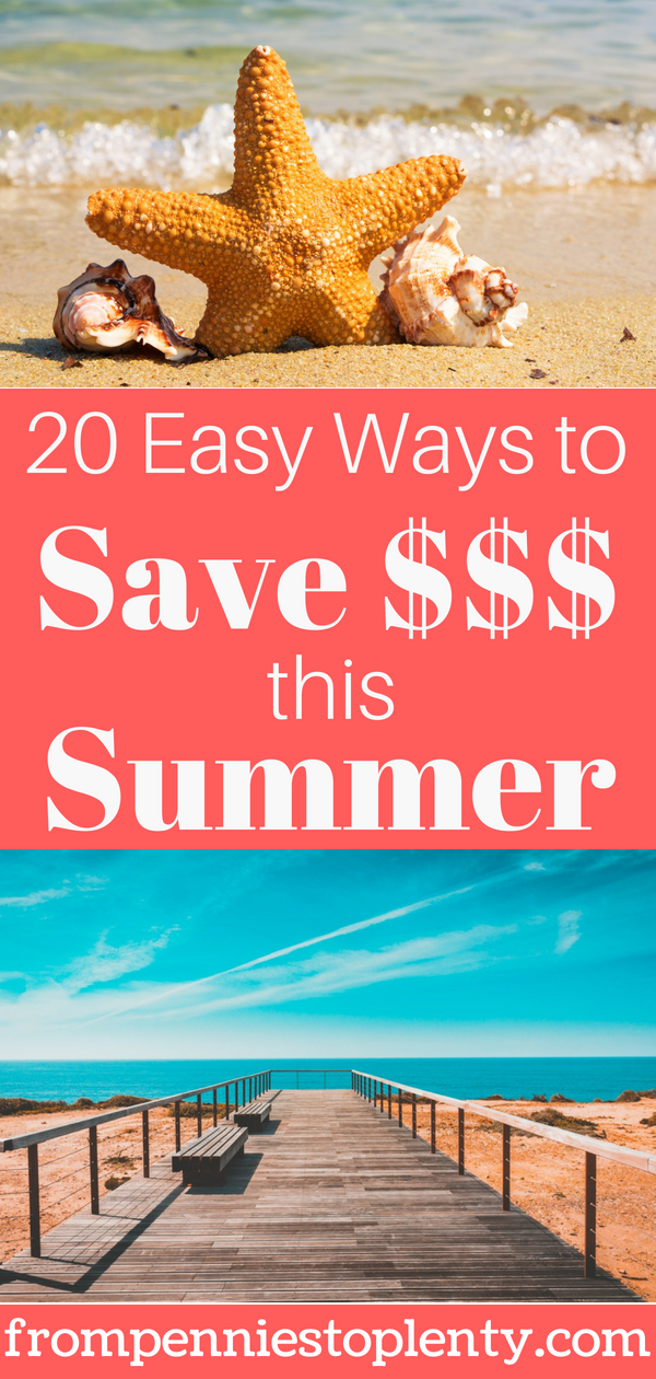 easy ways to save money this summer