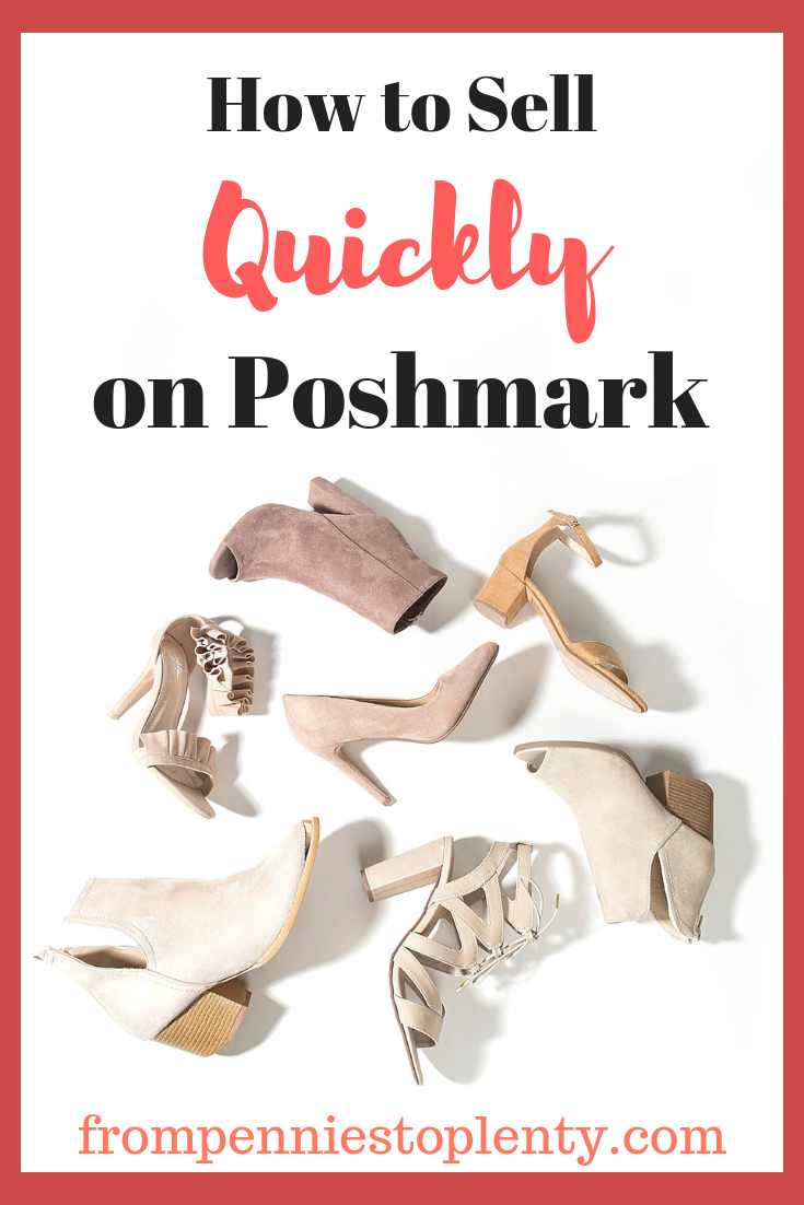 how to sell quickly on poshmark