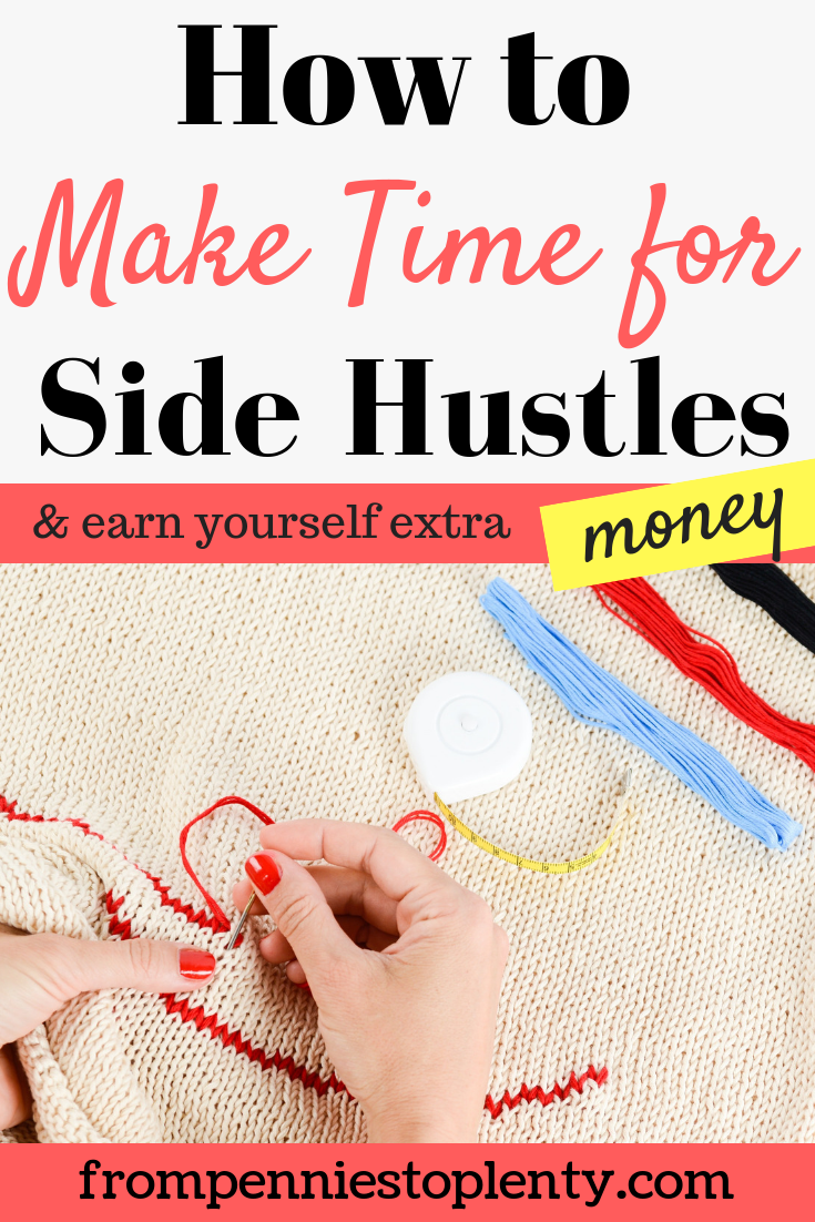how to make time for your side hustle 2