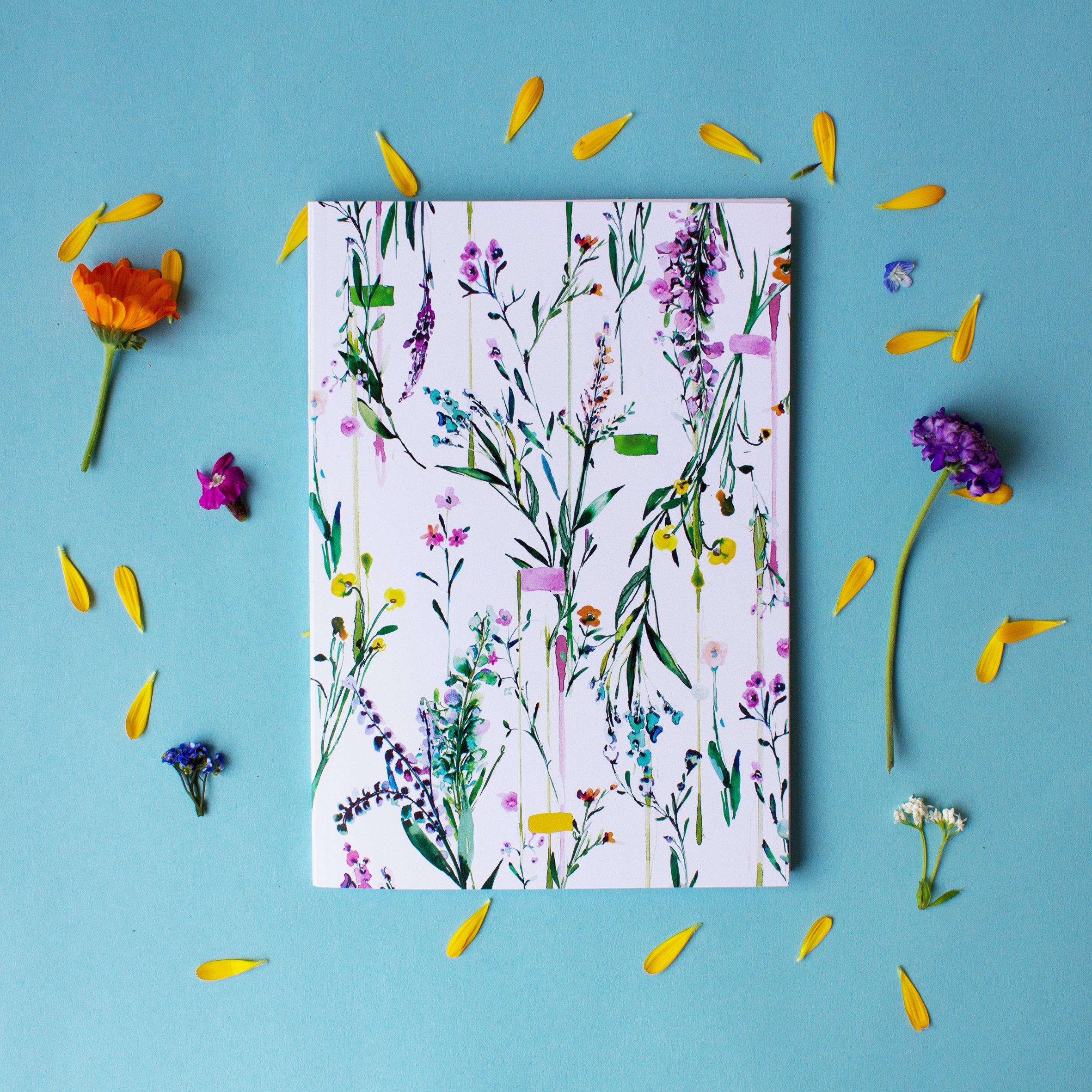 Fleur Botanique Notebook  by Nikkistrange