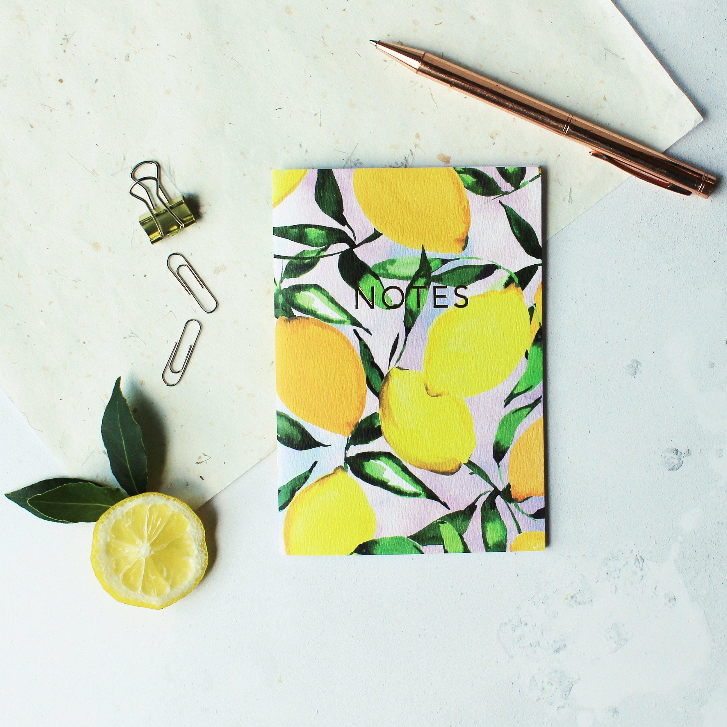 Lemons pocket notebook  by Nikkistrange