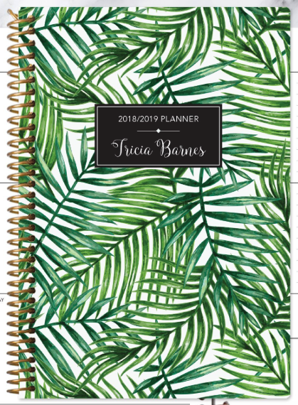 Green tropical pal  by posy paper co.