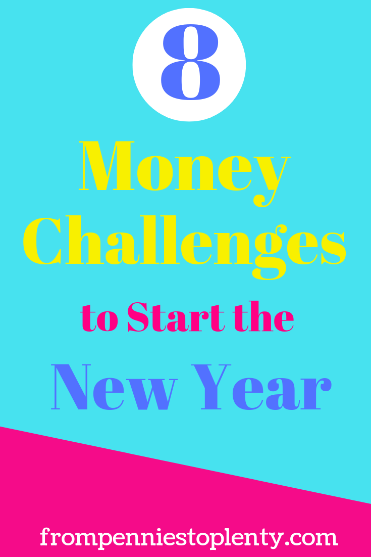 8 money saving challenges to start your new year