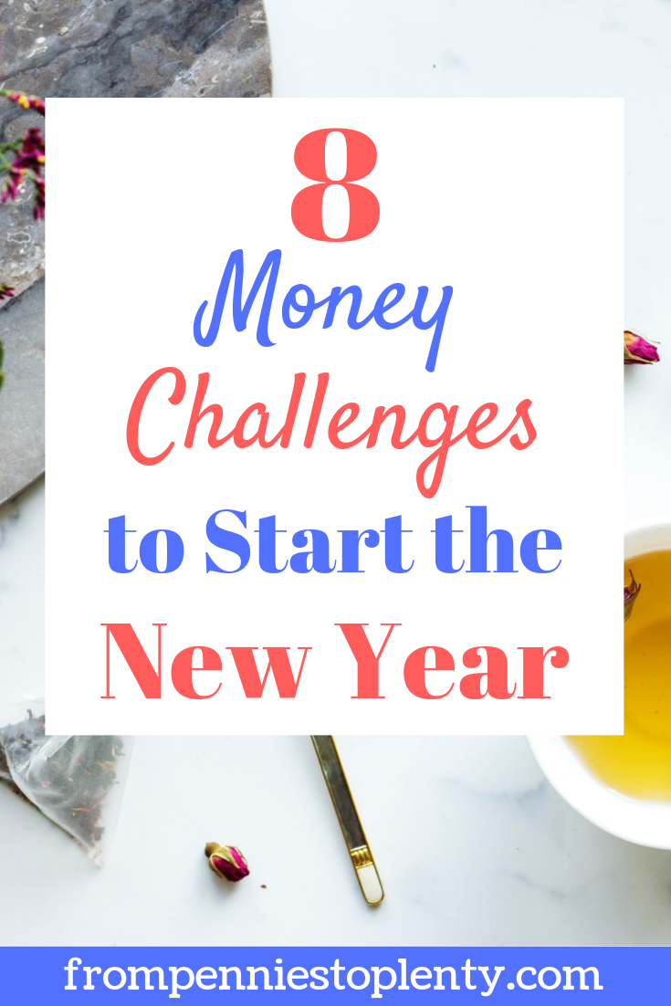 8 money saving challenges for 2019