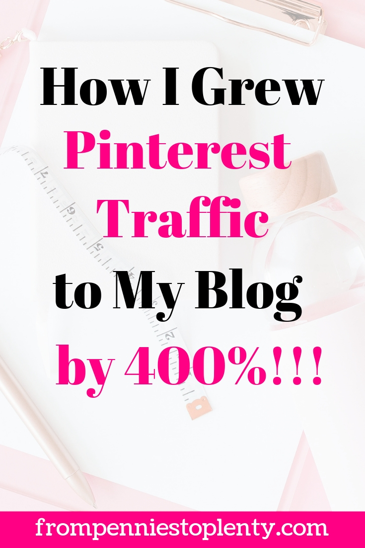 How I Grew Pinterest Traffic to My Blog by 400% with the Pinterest Launch Plan