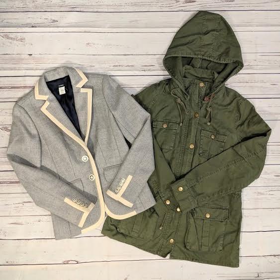 J. Crew blazer & Market & Spruce jacket