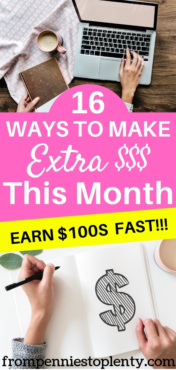 16 Ways to Make Extra Money This Month