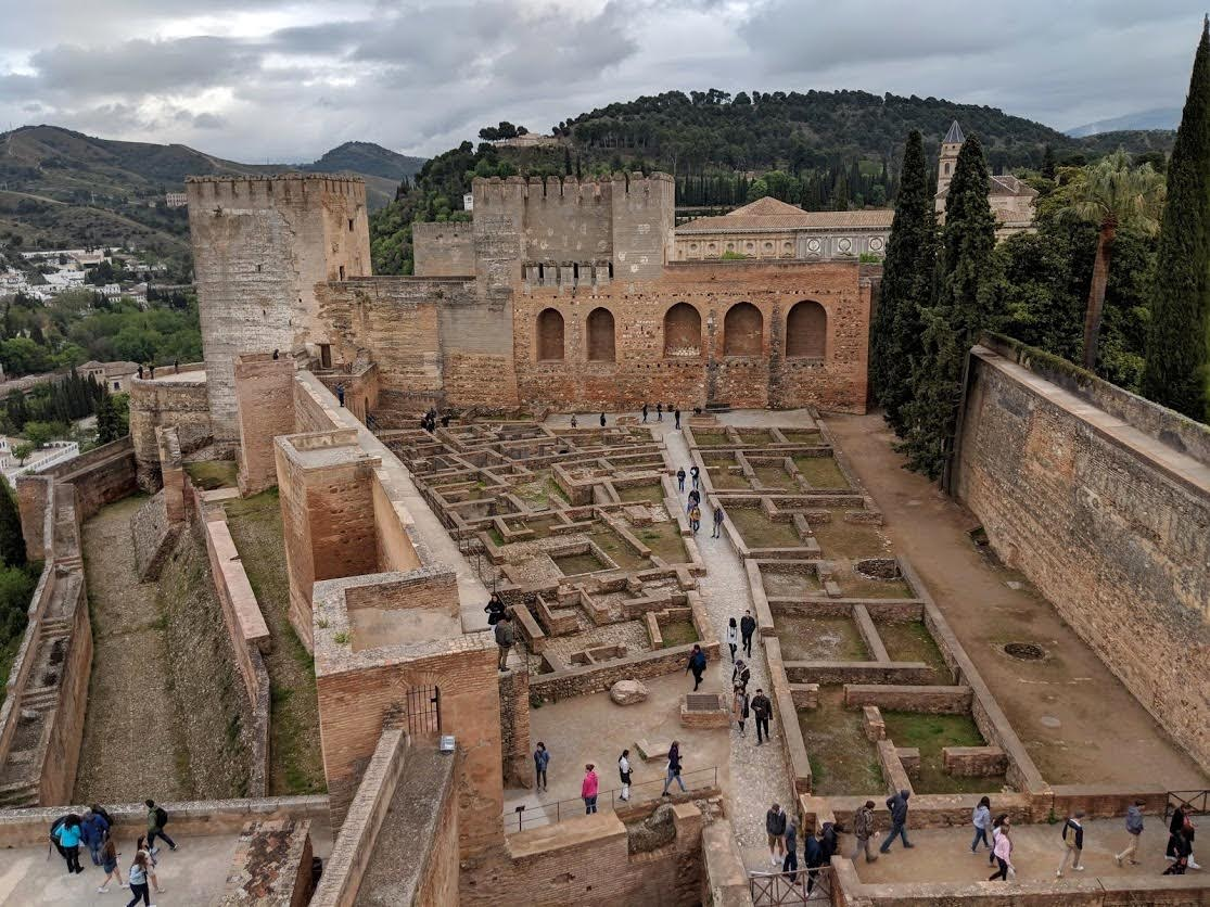 The Medina section of the Alhambra