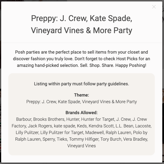 how to host a poshmark party view more 2.png