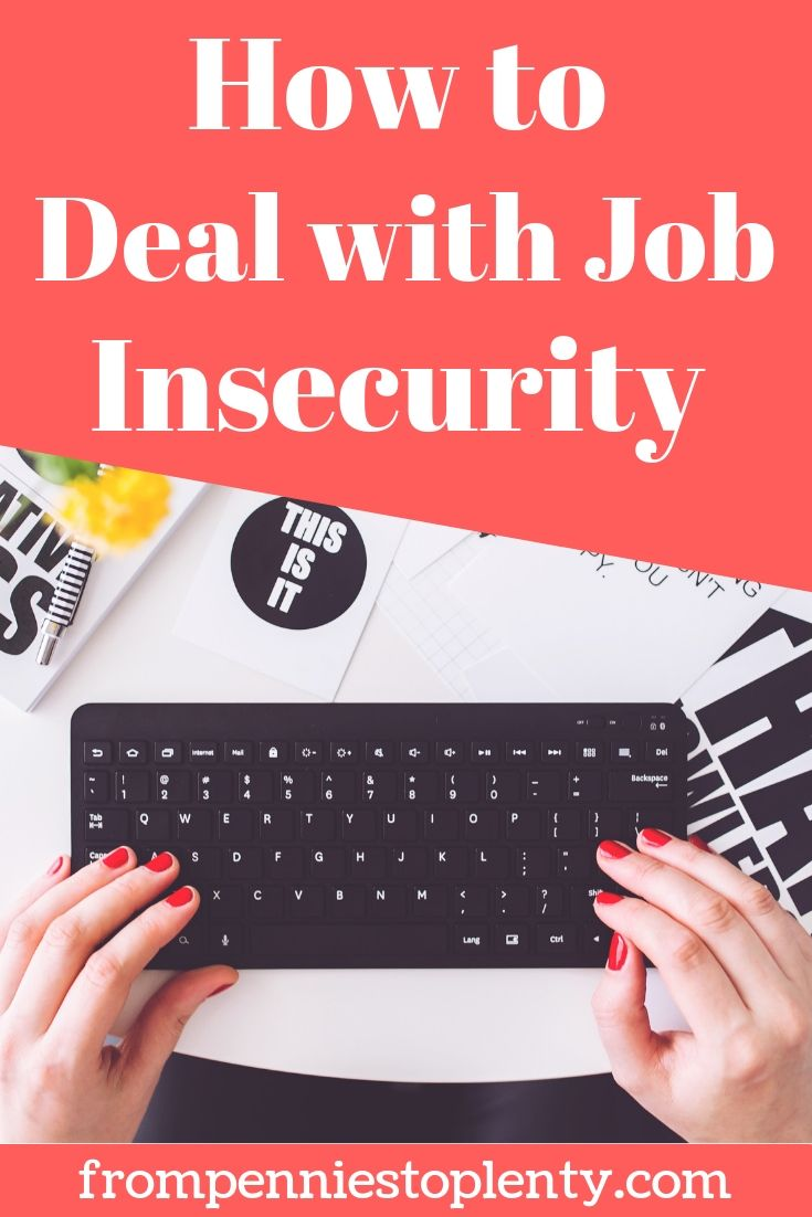 how to deal with job insecurity