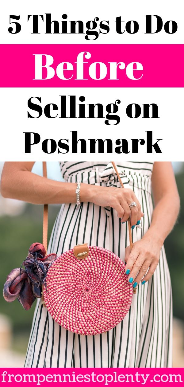 5 things to do before you start selling on poshmark