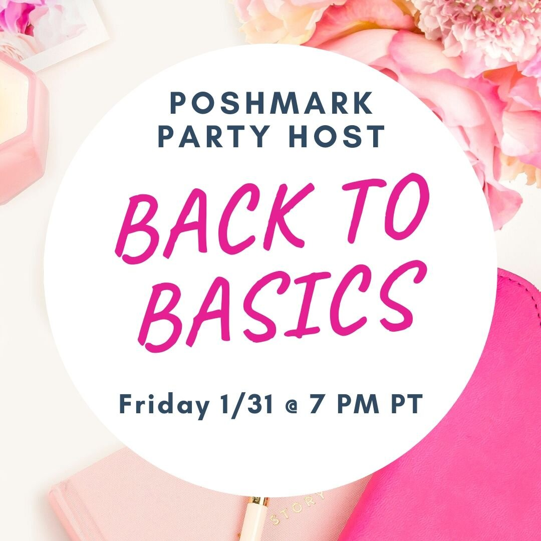 I M Hosting A Poshmark Party From