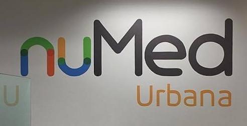nuMed Logo in Champaign Urbana