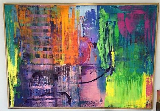 """""""Catch Me If You Can"""" 48x72 1.5"""