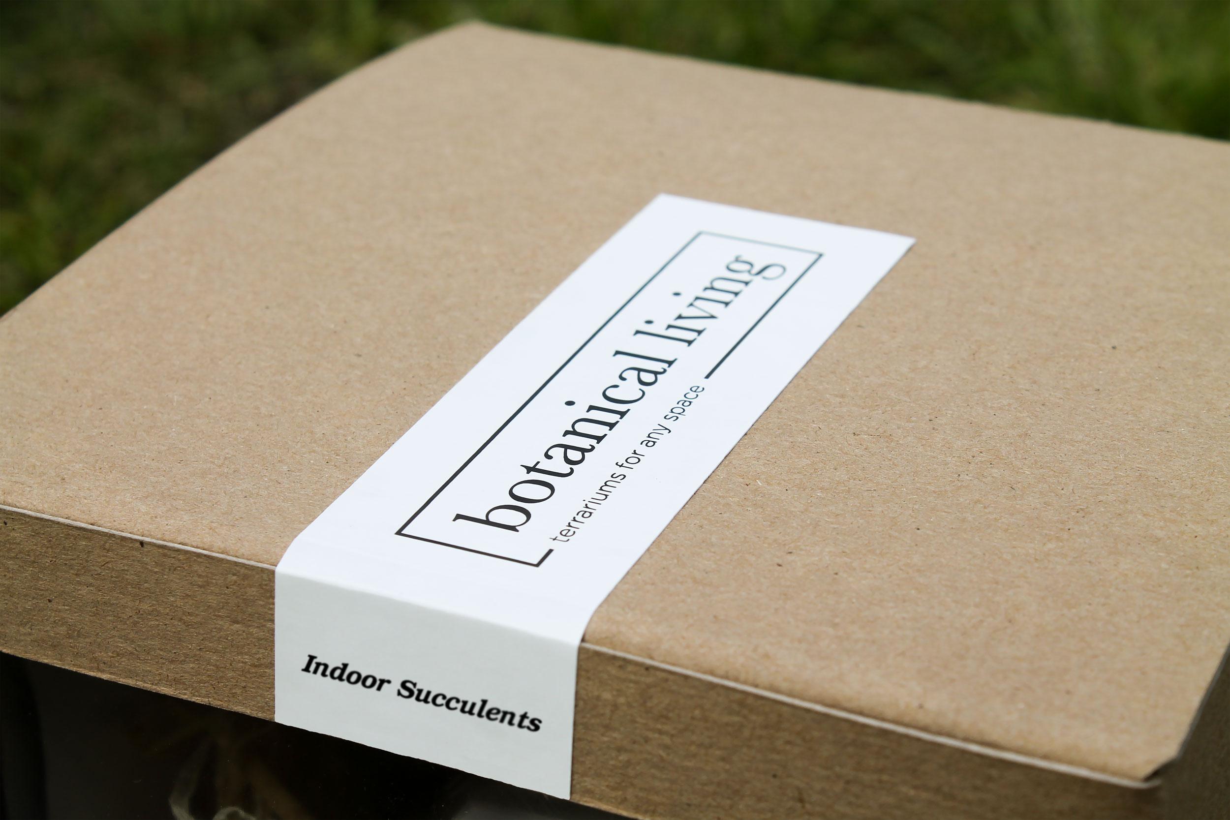 botanical living - branding | packaging