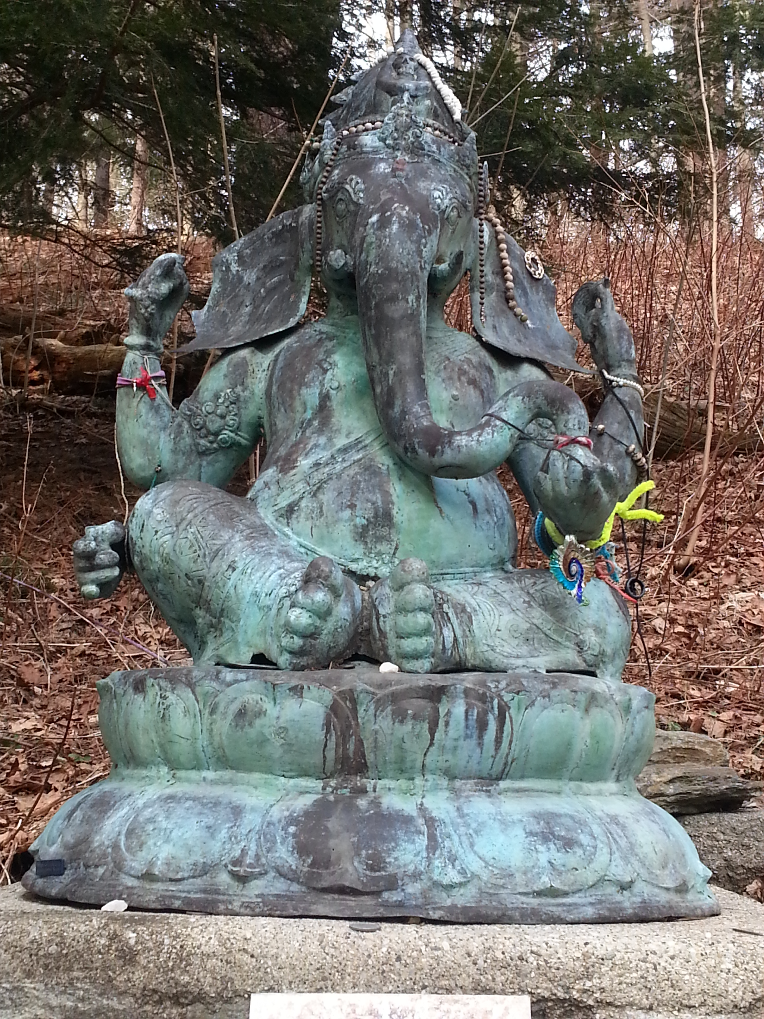 Ganesha at Kripalu