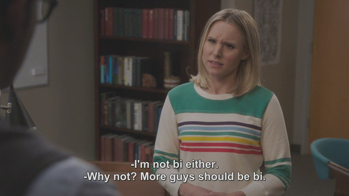 My favorite moment from this season of  The Good Place.  But Eleanor has a point, y'all!