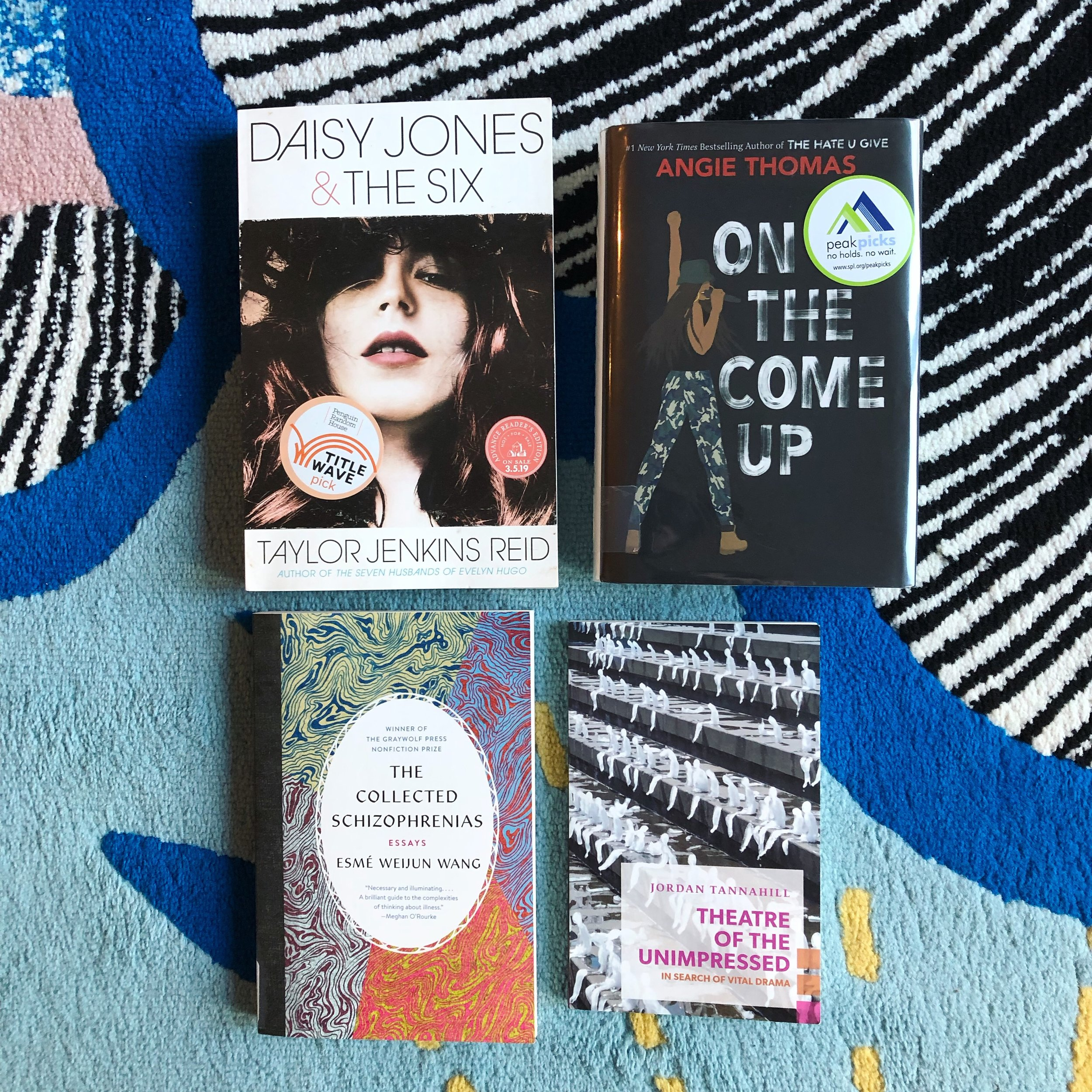 I read a couple of duds too, but these four books were excellent.