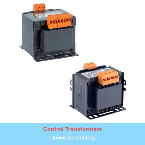 Control Transformers   Download PDF Catalog