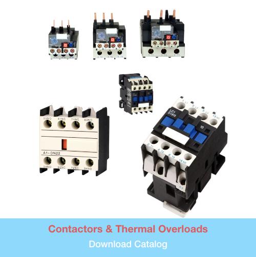 Contactors & Thermal Overloads   Download PDF Catalog