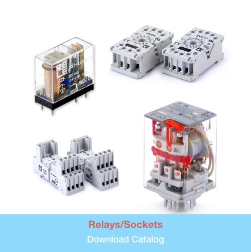 Relay/Sockets   Download PDF Catalog
