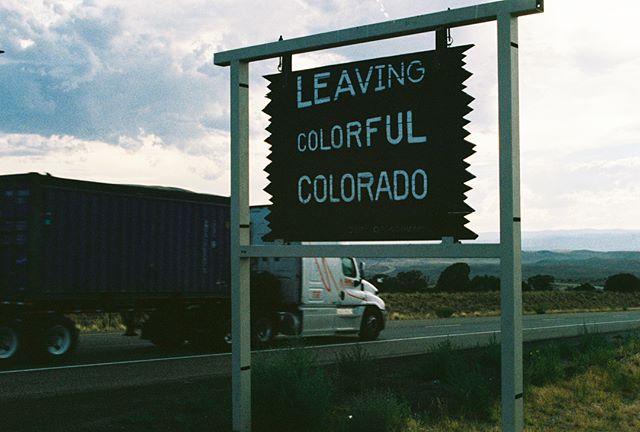 Country roads ⛰ . . . . . . . . . . . . . . . . . . . . . . #moab #grandcanyon #colorado #colorfulcolorado #filmphotography #analog #35mm #kodak
