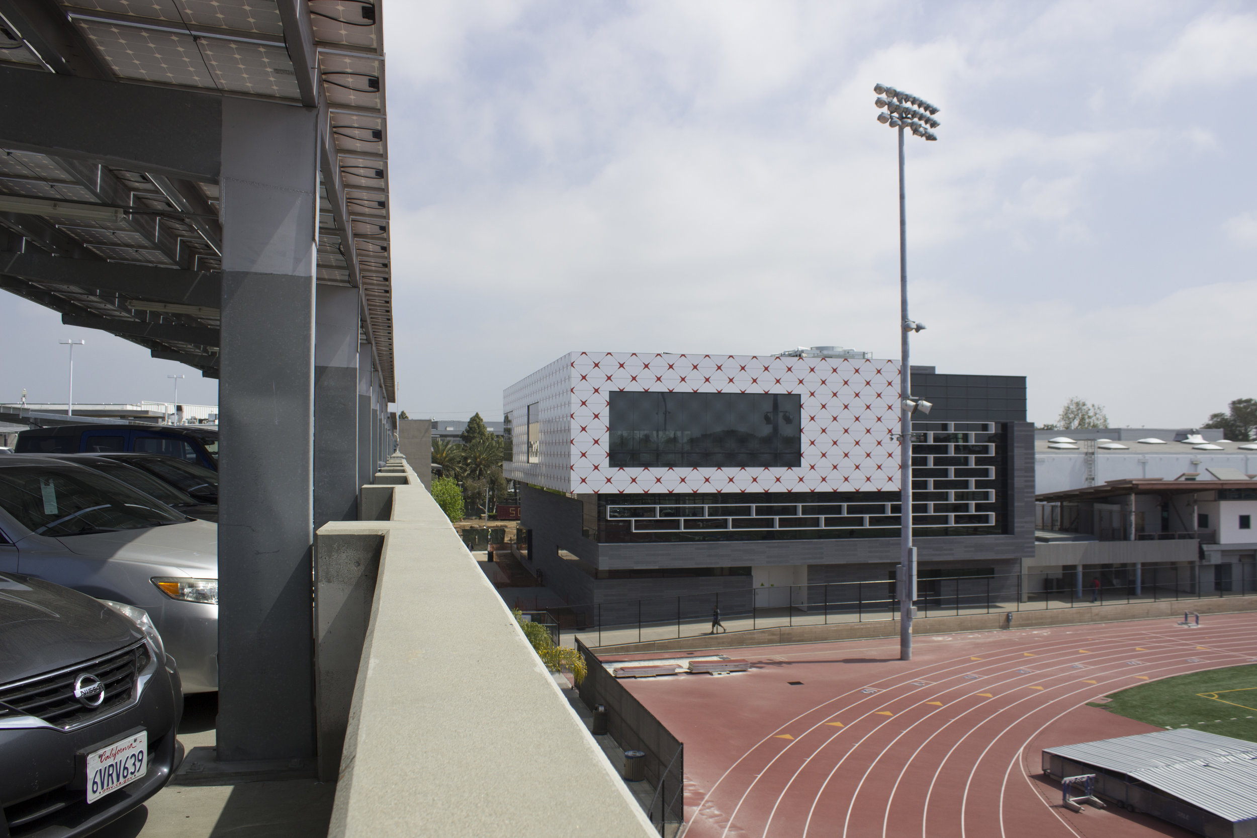 All new Core Performance Center building, at Santa Monica College, Calif. Photo taken on April 3, 2017. Emeline Moquillon, staff photographer