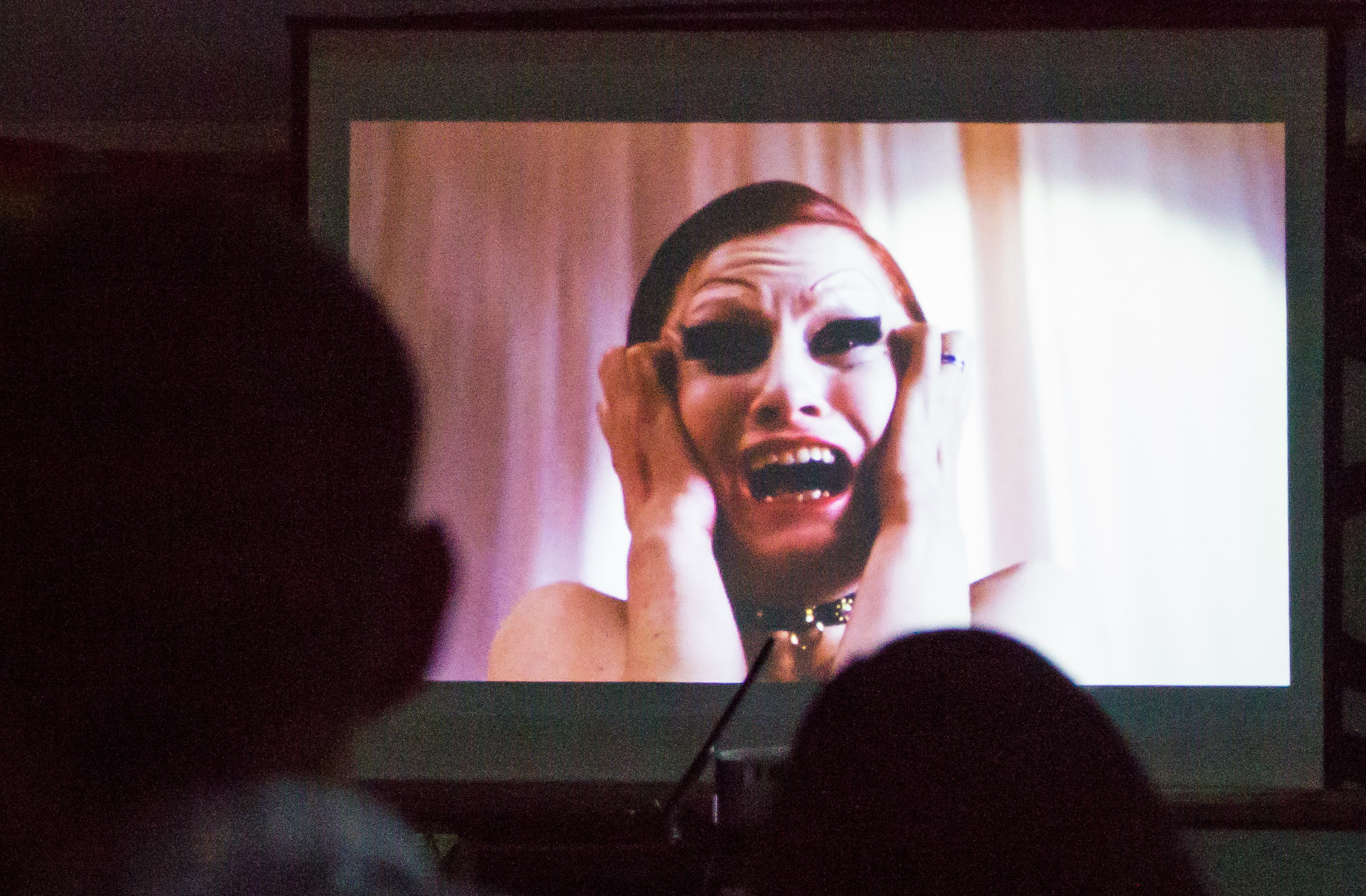 Santa Monica College students watch the Rock Horror Picture Show in the Cayton Center put on by the Associated Students in honor of Pride week on Wednesday, May 24, 2017 in Santa Monica College.