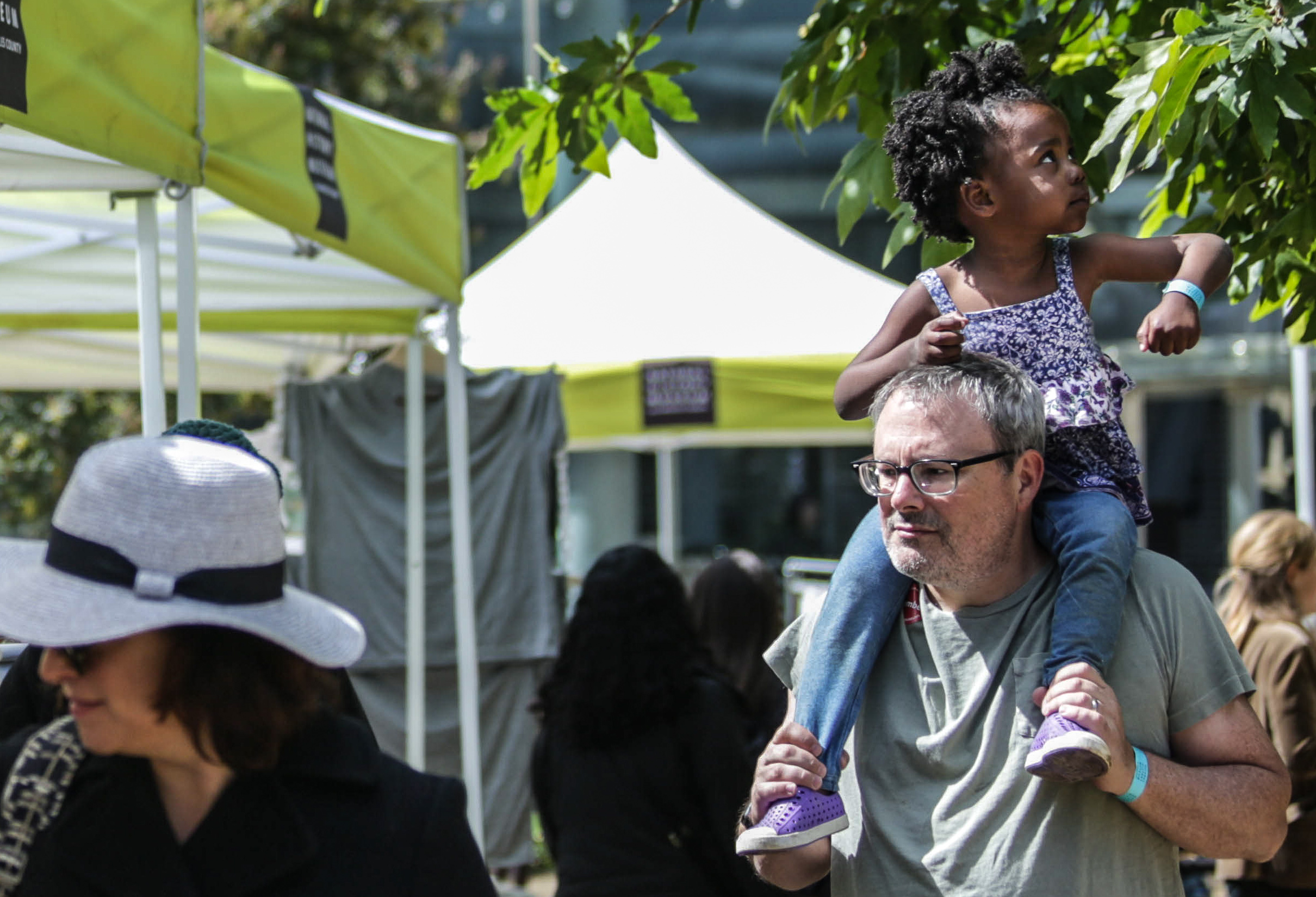Families and children gathered at the National History Museum at the University of Southern California, Los Angeles, California to participate in the Los Angeles Natrure Fest. Events took place on Saturday, March 17, 2018. (Corsair Photo/ William Wendelman)