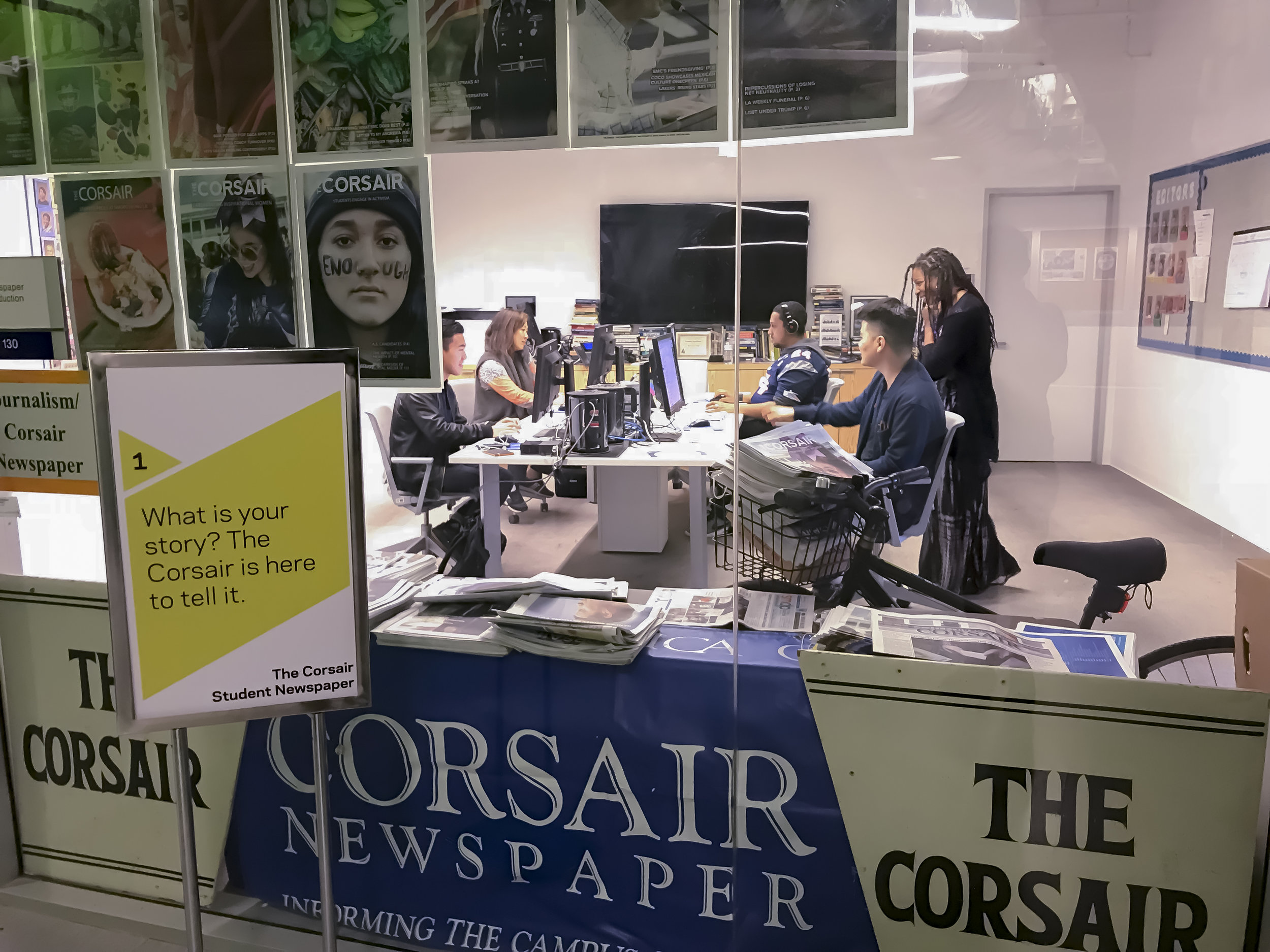 about the corsair - Bringing you the campus, the city, and the world.