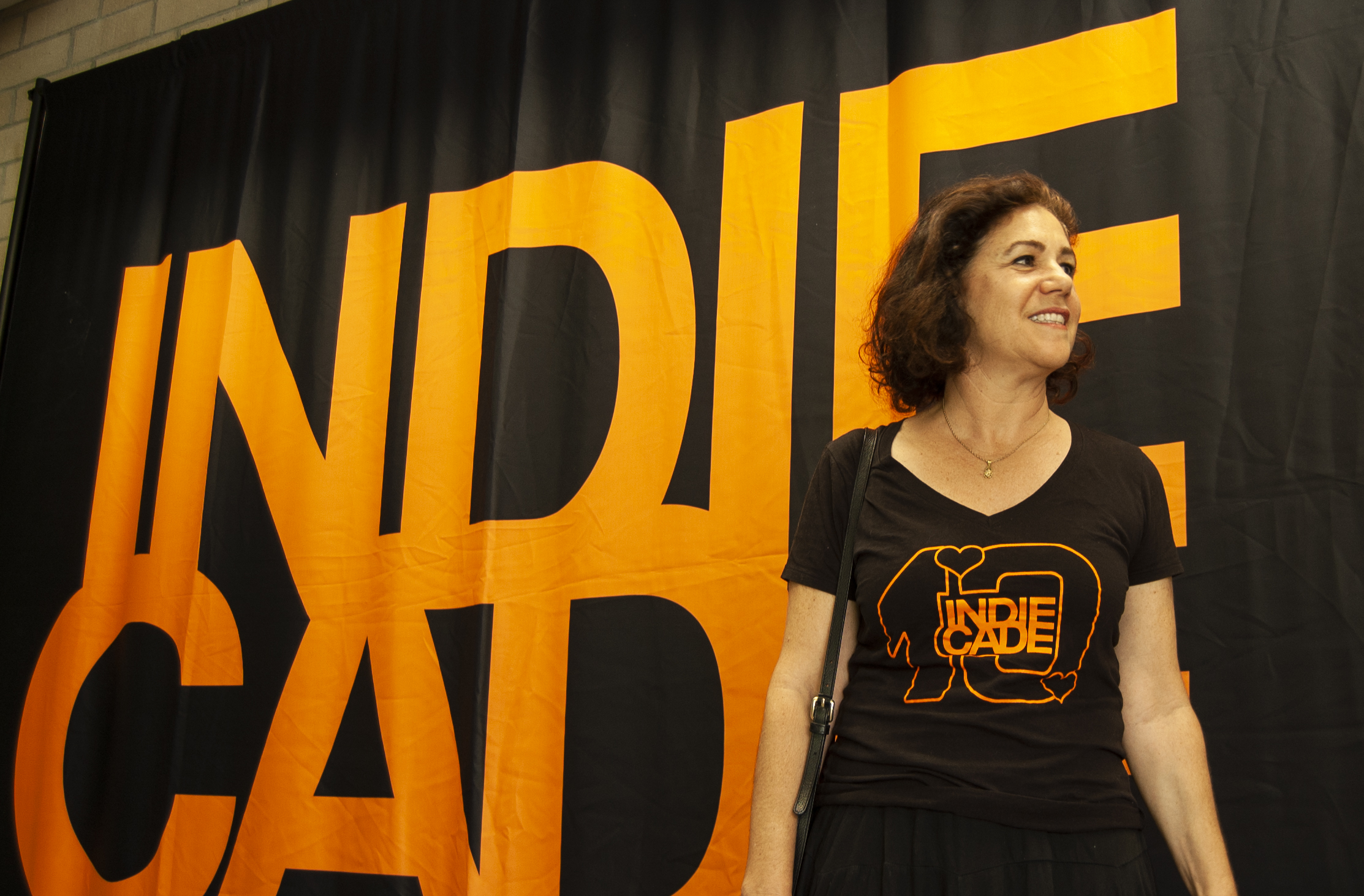 IndieCade founder Stephanie Barish at IndieCade, October 2018